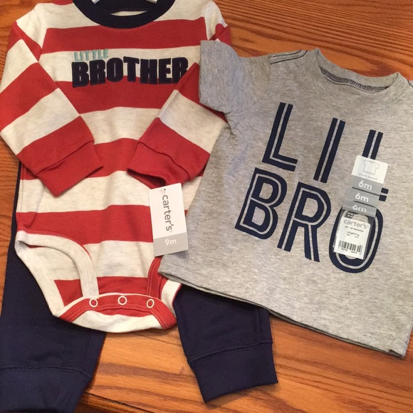 612b82c7f Carter's Matching Sets | Nwt Little Brother Outfits | Poshmark